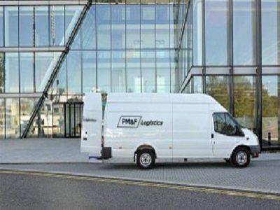 serviços da PM&F Logistics - Courier